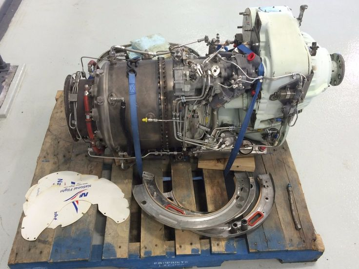 Garrett airesearch tpe 331 aircraft turbo prop gas turbine ...