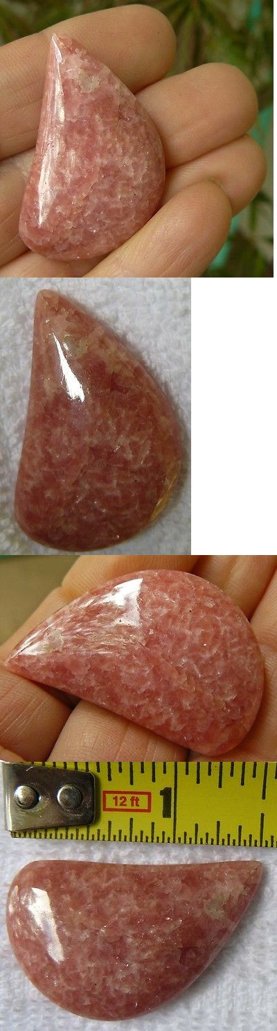 Agate 10185: Rhodochrosite Cabochon, Aaa Gemstone Beauty 56 Cts. -> BUY IT NOW ONLY: $32 on eBay!
