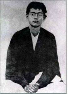The great Indian leader Subhas chandra Bose in young age..#India..