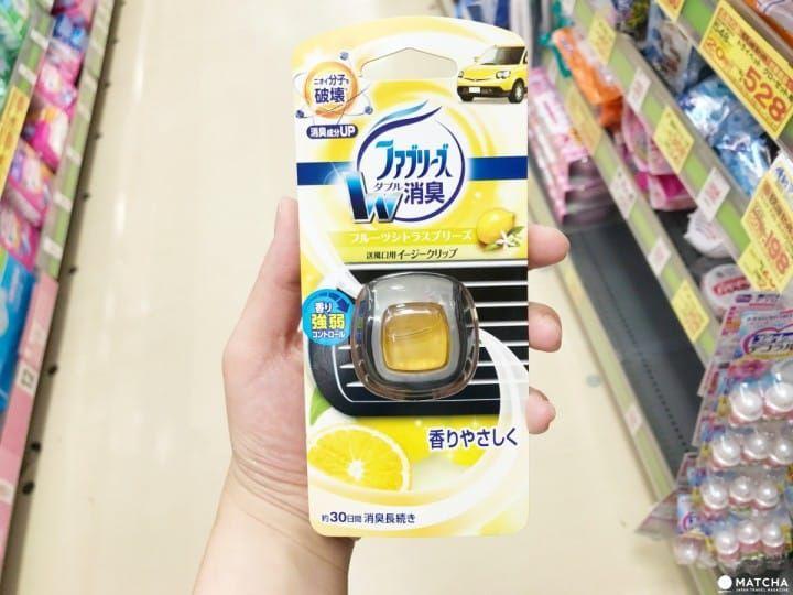 日本日用品 車內芳香劑 Matcha Deodorant Bottle