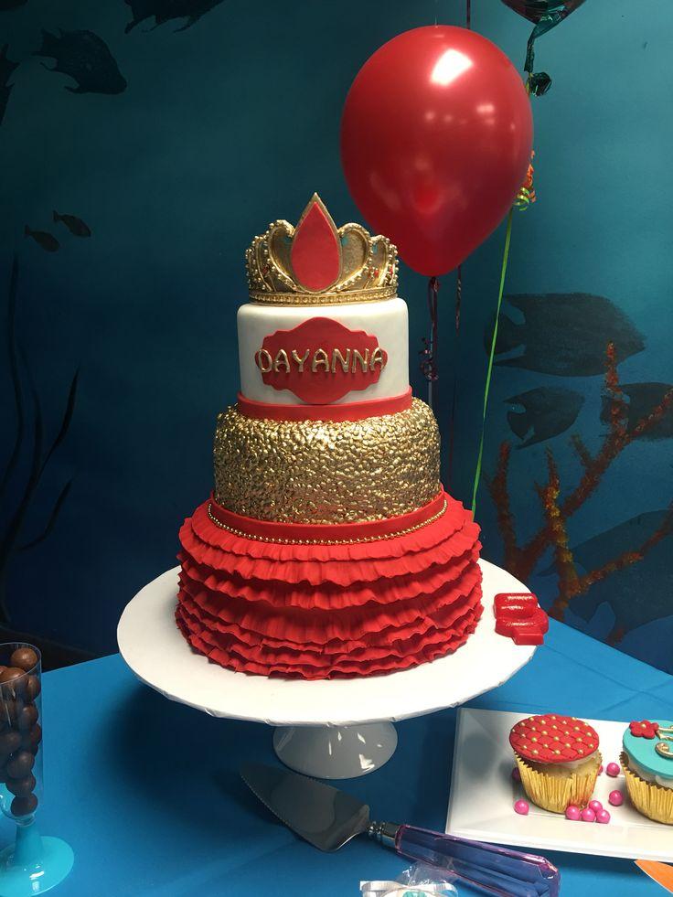Gorgeous Elena of Avalor cake for my princess Dayanna...