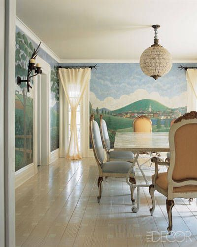 14 Ideas For Painted Floors