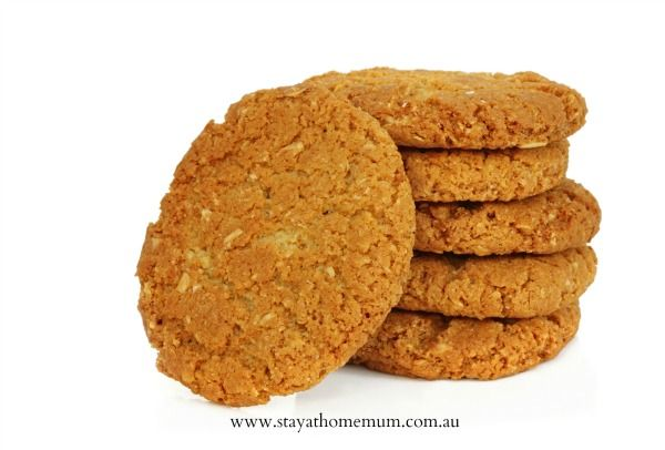 Anzac Biscuits Recipe | Stay at Home Mum