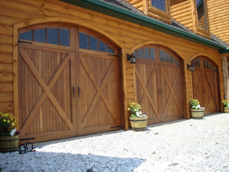 78 Best Images About Wood Garage Doors And Gates On