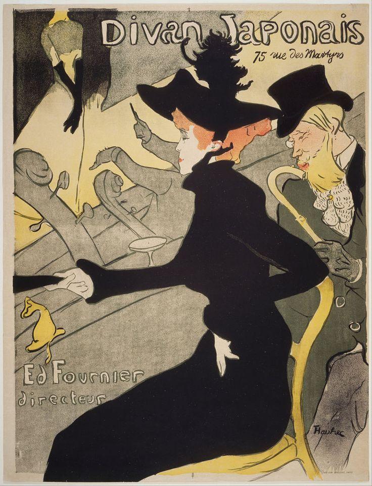 Henry de Toulouse-Lautrec at  Palazzo Blu - Divan Japonais