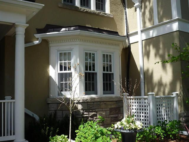 9 best beautiful bay windows images on pinterest home for Bay window replacement ideas