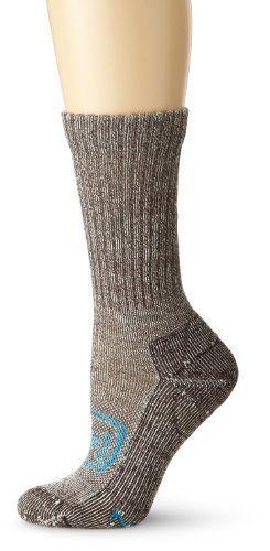 Keen Women's Targhee Lite Crew Sock, Dark Brown, Small by Keen. $16.00. The women's Targhee Lite Crew is the perfect hiking sock.