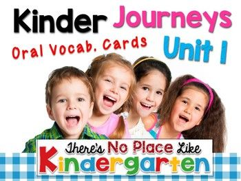 A printable created by There's No Place like Kindergarten to be used with the Kindergarten JOURNEYS 2017 by Houghton Mifflin Harcourt Publishers.  These cards will help you teach the Oral Vocabulary component during your read aloud in each lesson.  Use these cards for building stronger readers and writers.