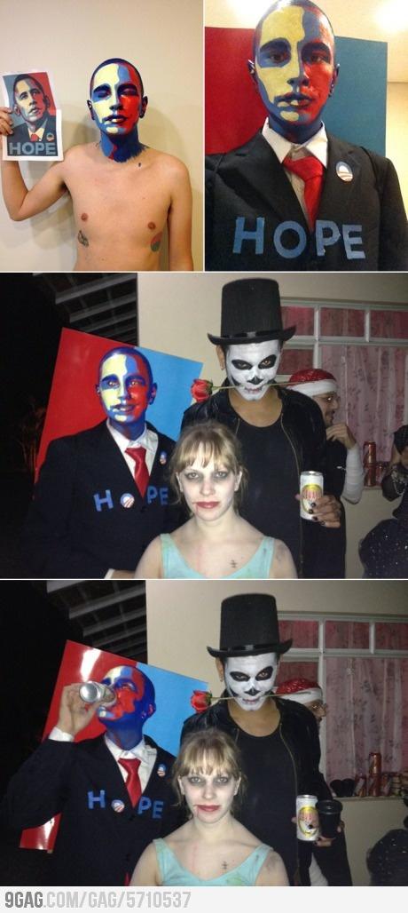 Awesome Obama Halloween Costume