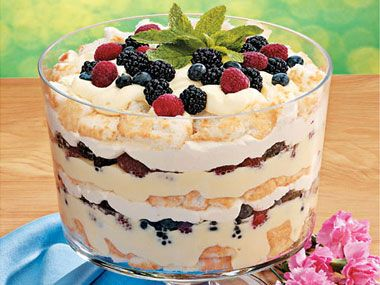 www.smartshopperusa.com  Compile your Grocery List with the SmartShopper Voice Grocery List Maker to make theis Angel Berry Trifle Dessert for Easter