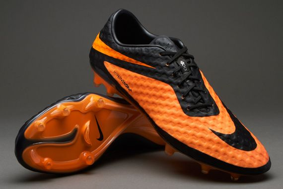 Nike Heren Voetbalschoenen - Hypervenom Phantom - Firm Ground - Harde Grasvelden - Zwart