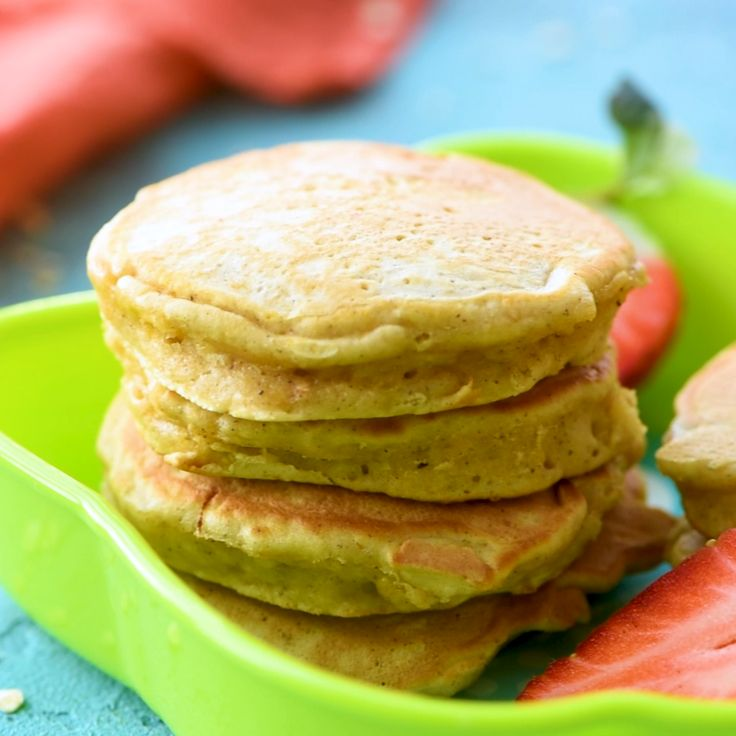 Pumpkin Pancakes for BABY