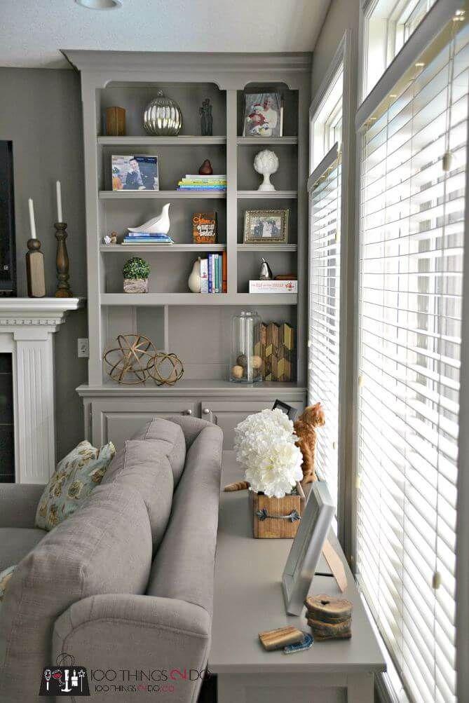 Slates Of Gray Simple Sofa Table