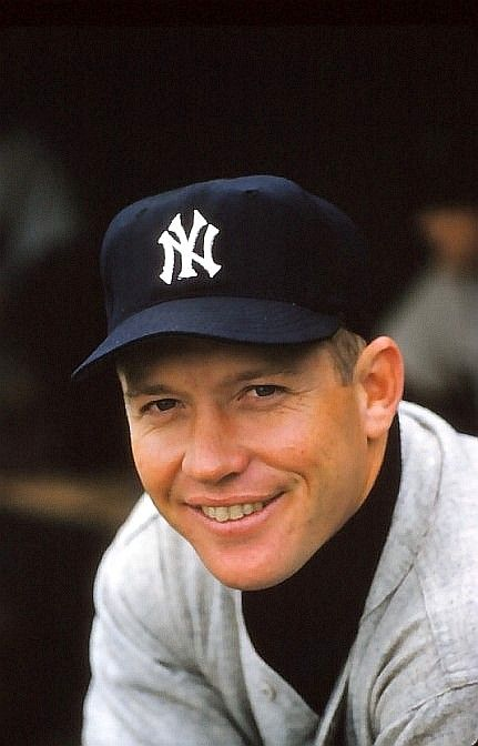 Mickey Mantle in his prime.