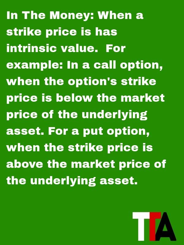Options trading value
