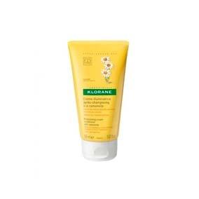 Klorane Crema De Manzanilla(Camomile) 150Ml Bálsamo reflejos dorados con extracto de camomila. Da resplandor, brillo y reflejos rubios a los cabellos claros, acentúa el dorado de los cabellos rubios o castaño claros. Proporciona reflejos luminosos.