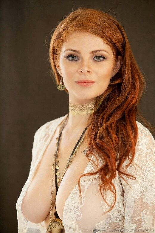 A bit of a #hippy style for me from yesterday's shoot, what do you think?   #Boho #Bohemian #style #redhead