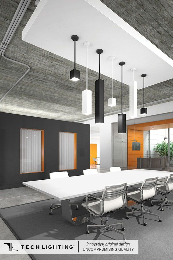 Looking For Commercial Pendant Lighting For Your Office Tech Lighting Exo Pendant Lighting Is Fle Commercial Office Design Office Design Home Office Lighting