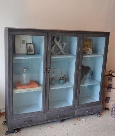 Secretary Repurposed And Cabinets On Pinterest