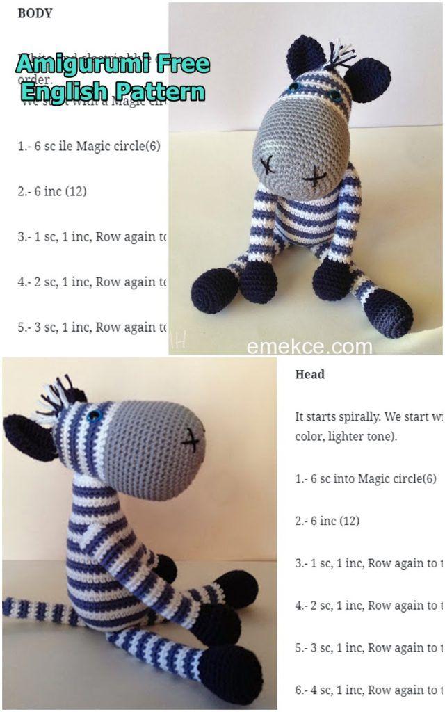 Ravelry: Betje Zebra (modificatie) pattern by Kristel Droog | 1024x640