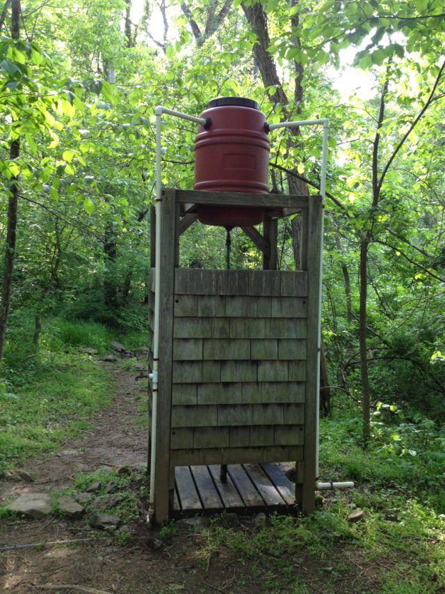 DIY Outdoor Solar Shower                                                                                                                                                     More