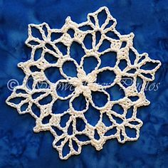 Ravelry: Dusty Snowflake pattern by Deborah Atkinson