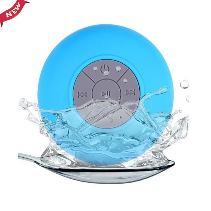 PORTABLE BLUETOOTH WATER RESISTANT SHOWER SPEAKER //Price: $12.95 & FREE Shipping //     #hashtag4