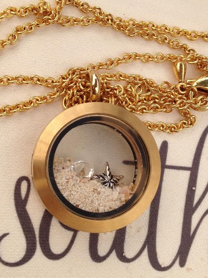 Our lockets can be used to display sand from your favourite beach! www.southhilldesigns.com/canadiancharm