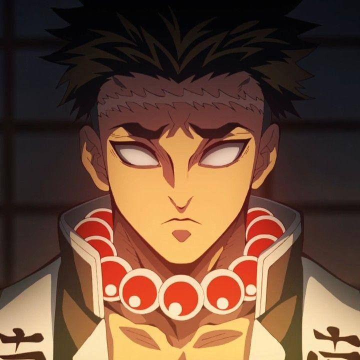Kimetsu No Yaiba Gyomei Himejima Arte Anime Wallpaper Desenho