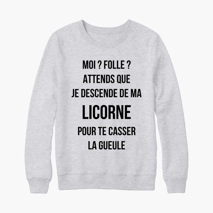 Les 25 meilleures id es de la cat gorie licornes sur pinterest mignonne licorne art de - Faire un t shirt personnalise soi meme ...