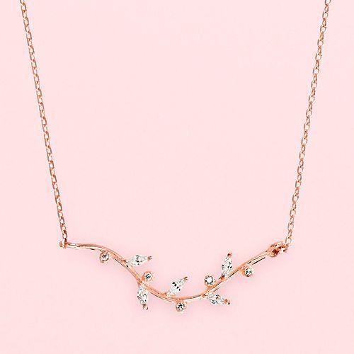 LC Lauren Conrad Runway Collection Branch Necklace