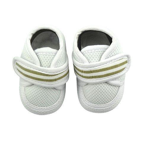 Crystal & Cloth Signature Baby Shoes - Boys Velcro Kicks