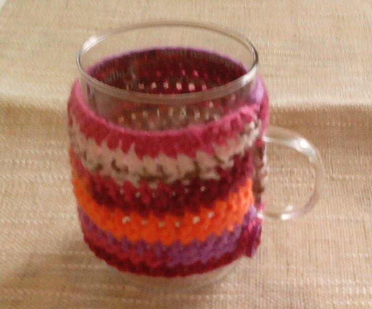 Cache mug aux couleurs d'automne. : Vaisselle, verres par pamamoune