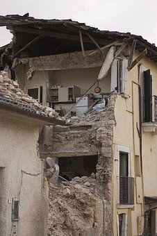Földrengés, Kavics, Összeomlás