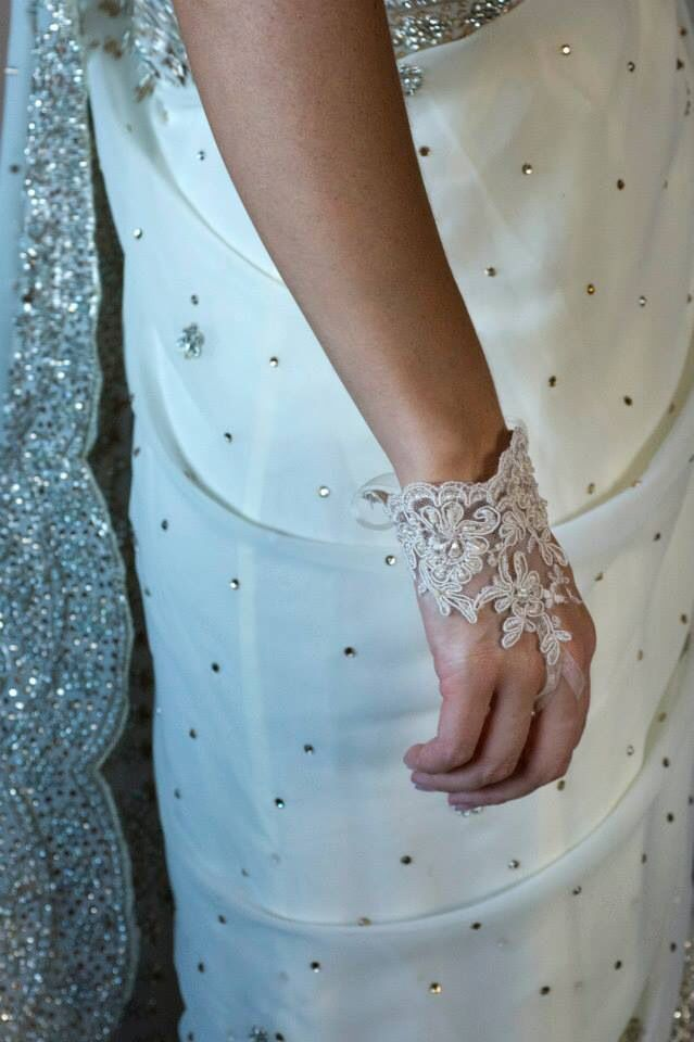 My wedding sari