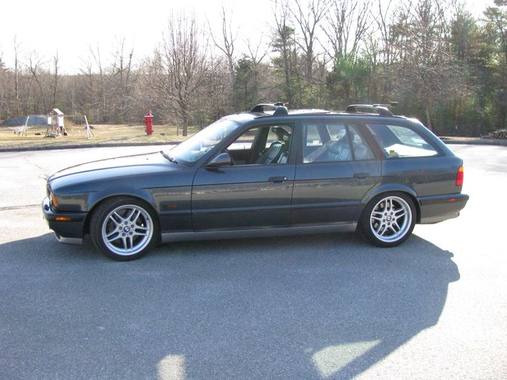 E34 M5 Touring  4 Wheels  Pinterest  BMW BMW M5 and Cars