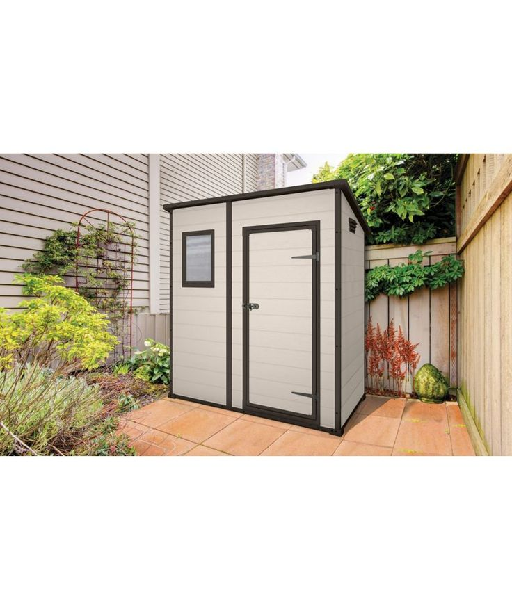buy keter pent plastic garden shed 6 x 4ft at argoscouk