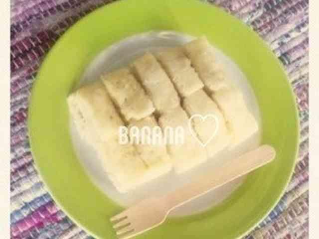 卵不使用レンジdeバナナ蒸しパン★
