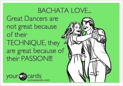 I've always believed in this!! And this goes to any dancer, not only bachata dancers! ❤️