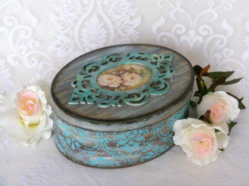 Pentart dekor: Öregítsünk patina effekttel