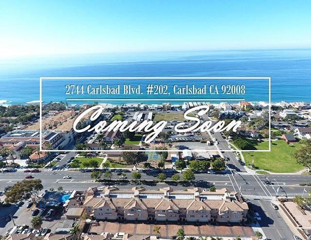Coming Soon!!!🏡 Luxury townhome with breathtaking ocean views in the heart of Carlsbad Village and just a block to the beach. 🌴🌊☀️ For more information contact me directly 949-637-6710 #luxuryhomes #sandiego #carlsbadvillage #homesforsale #californialiving #californiadreaming #beachlife #socal #sandiegorealtor #sandiegohomesforsale #ocenviews #comingsoon #sunsetviews #sandiegorealestate #carlsbad #realestate - posted by Gabriel Peretti Real Estate…