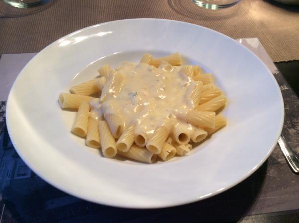 Käsesoße für Pasta