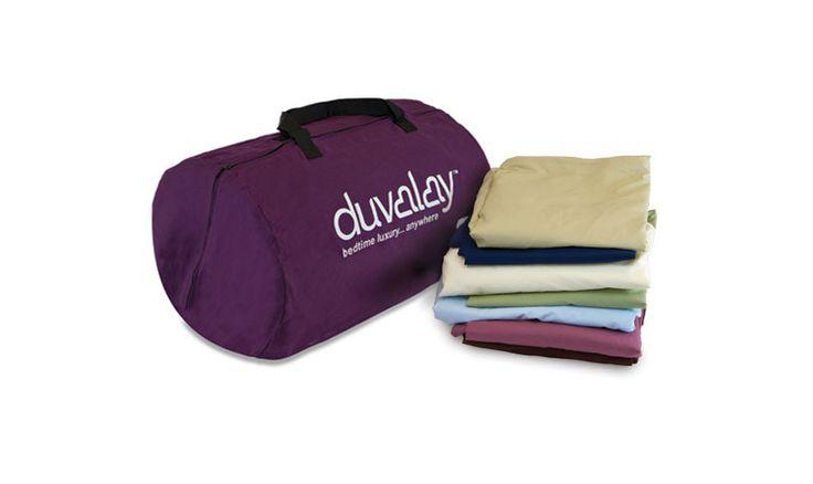 Duvalay Memory Foam Sleeping Bag Bundle Pack 77cm