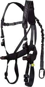 FREEREIN LLC G-Tac Air Womens Safety Harness Charcoal** One Size Fits All **, EA