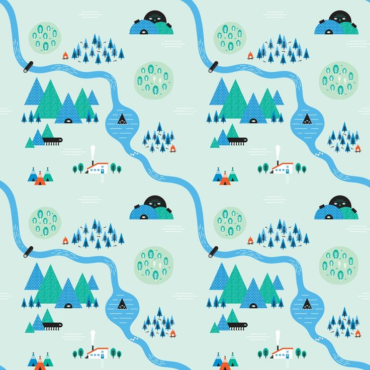 Adobe Illustrator tutorial: Create quirky repeating patterns Delve into your imagination for kooky maps with Imakethings