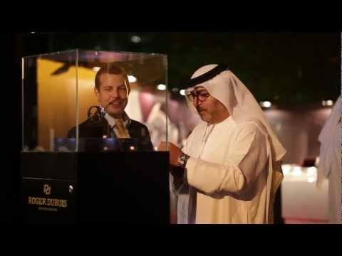 Roger Dubuis - Dubai Boutique Grand Opening Event with Gerard Butler and Kajol