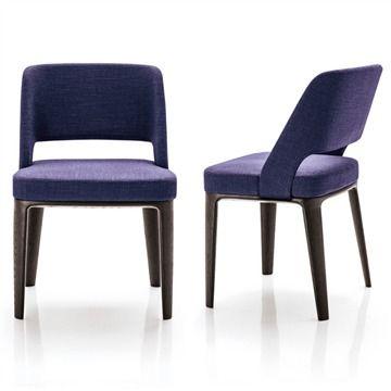 owens chair wood base minotti switch modern