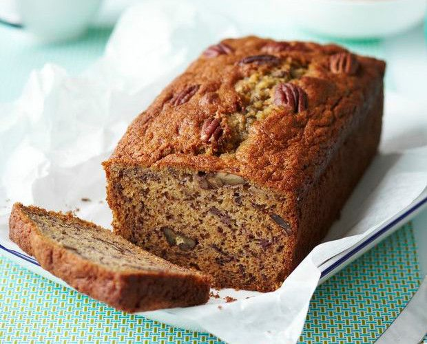 Banana and Pecan Breakfast Loaf - Lactose free recipe