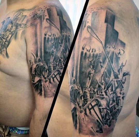Top 70 Best Shield Tattoo Design Ideas For Men: 17 Best Ideas About Shield Tattoo On Pinterest