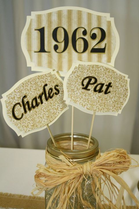 50th anniversary picks... Wedding / Anniversary Ideas Pinterest